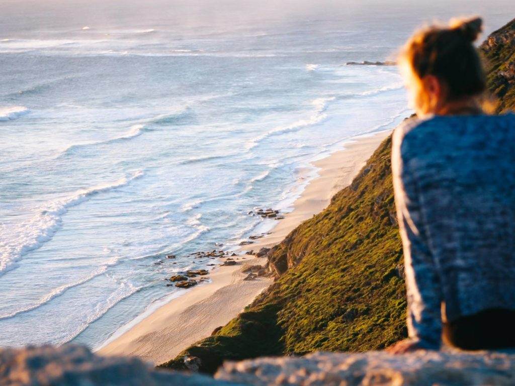 Emotionen zulassen heißt loslassen - wie hier in Australien