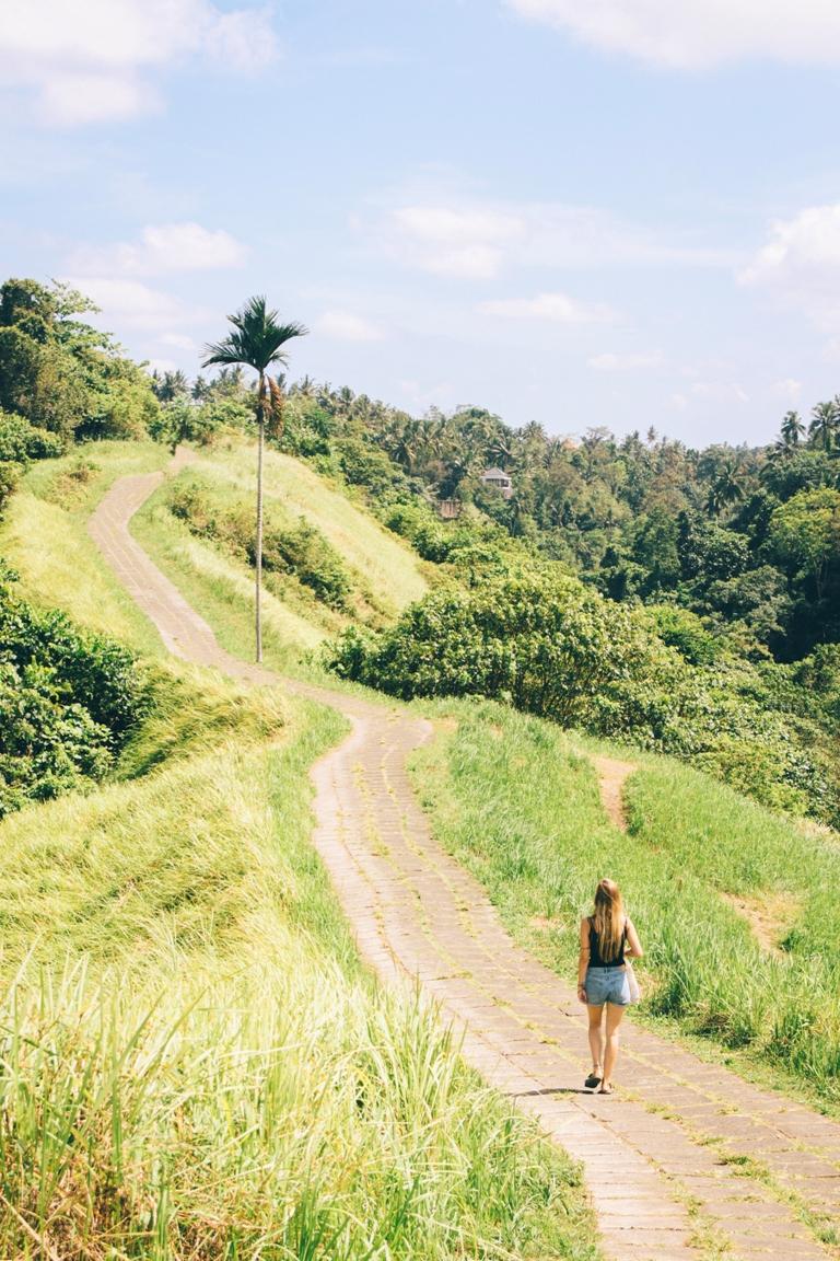 Heiliger Ort in Ubud und ein toller Tipp für eine Bali Reise: Der Campuhan Ridget Walk