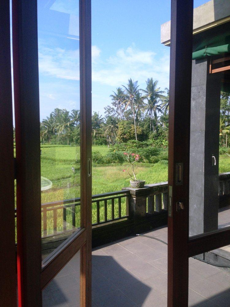Ubud Tipp: Aufwachen mit Reisfeld-Blick in einer wunderschönen Unterkunft