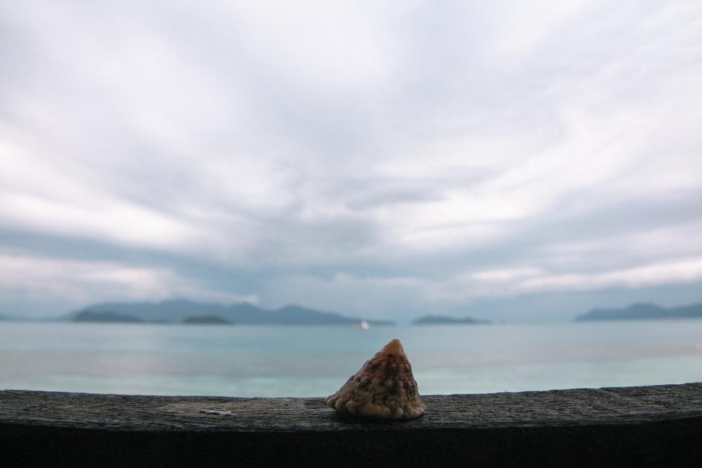 Emotionen zulassen geht am besten in Ruhe - wie hier am Strand von Koh Wai in Thailand