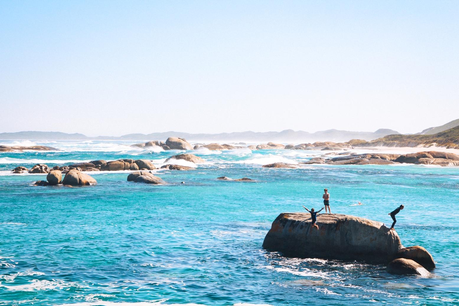 Emotionen pur beim Roadtrip durch Westaustralien und hier bei den Elephant Rocks