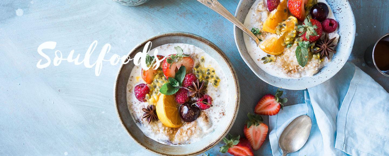 Soulfoods -eine Ernährungsumstellung, die glücklich macht