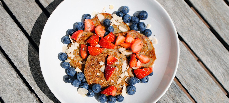Pfannkuchen ohne Milch - vegane Pancakes