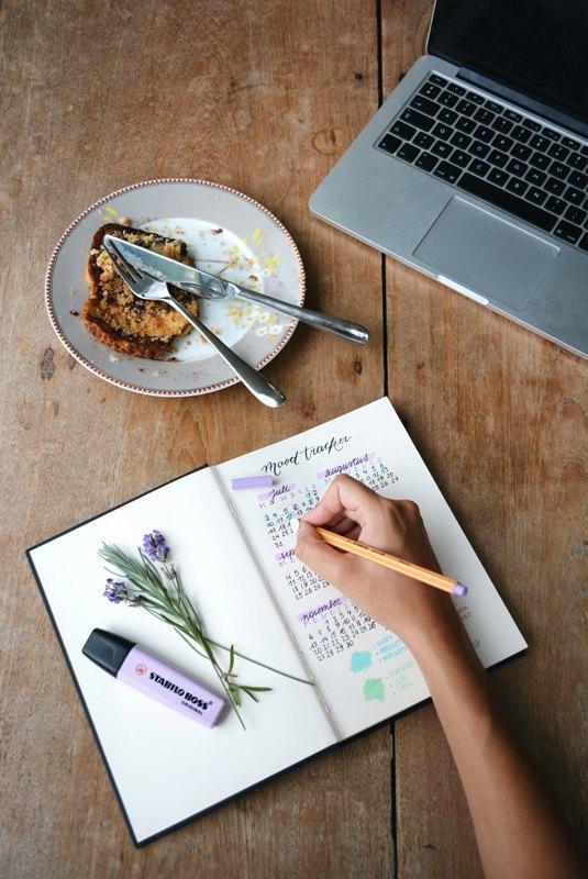 Tagebuch führen hilft mir bei PMS
