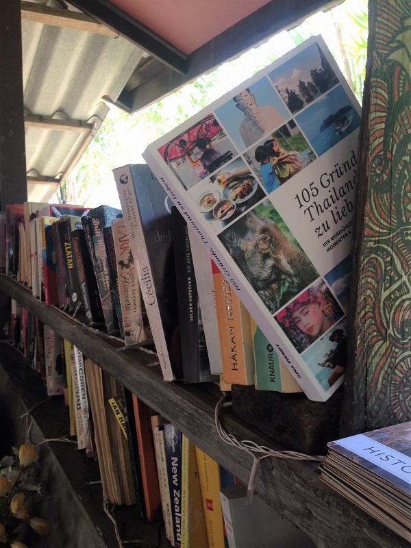 Mein Buch in Thailand